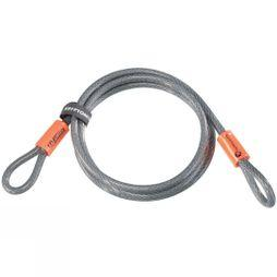 Kryptonite Kryptoflex Cable 7ft Dk Grey        /Orange