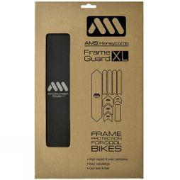 All Mountain Style AMS Honeycomb Frame Guard XL Black