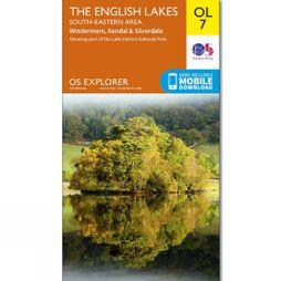 Explorer Map OL7 The Lake District - South-Eastern Area