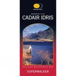 Harvey Maps Cadair Idris Map 1:25K No Colour