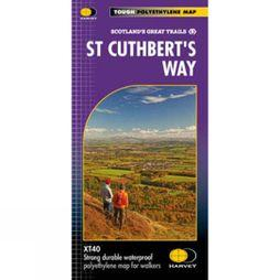 Harvey Maps St Cuthberts Way Map 1:40K No Colour