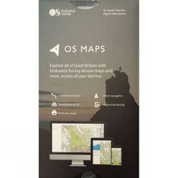 Ordnance Survey OS Maps 12-Month Premium Digital Subscription V18