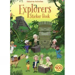 Usborne Explorers Sticker Book 2017