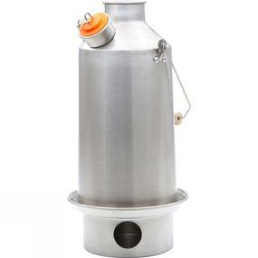 Kelly Kettle Base Camp Kettle 1.5Ltr Stainless Steel