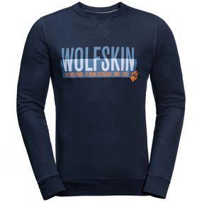 Jack Wolfskin Mens Slogan Sweatshirt
