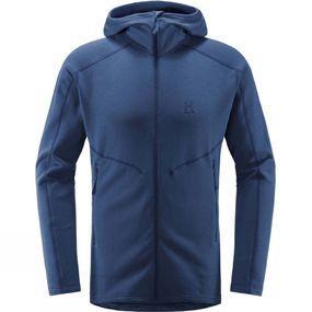 Blue Mountain Mens Micro Fleece Dark Blue