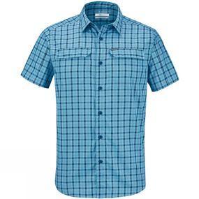 Columbia Mens Silver Ridge 2.0 Multi Plaid Short Sleeve Shirt