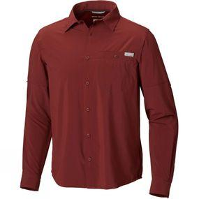 Columbia Mens Triple Canyon Solid Long Sleeve Shirt