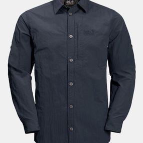 Jack Wolfskin Mens Lakeside Roll-Up Shirt