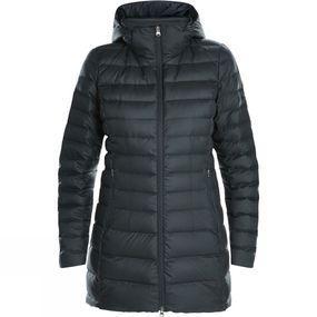 Womens Hudsonian Long Down Jacket