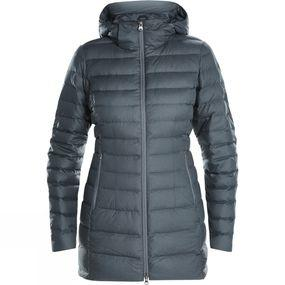 Womens Hudsonian Long Down Jacket