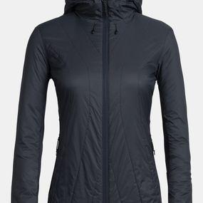 Icebreaker Womens Hyperia Lite Hybrid Hooded Hiking Jacket