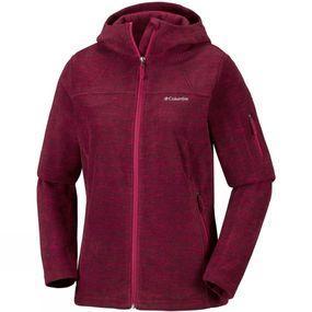 Columbia Womens Fast Trek Hooded Hiking Jacket