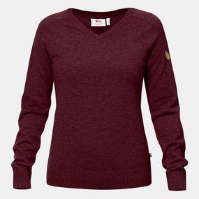 Fjallraven Womens Sörmland V-Neck Sweater