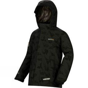 Boys Dozer Printed Insulated Jacket