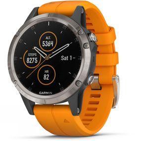 Fenix 5 Plus Sapphire Titanium Multisport GPS Watch