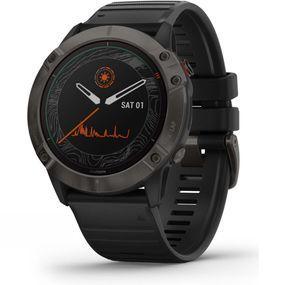Fenix 6X Pro Solar Titanium Multisport GPS Watch