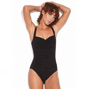 Seafolly Womens Twist Halter One Piece Swimsuit
