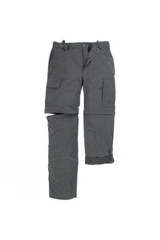 The North Face Mens Meridian Convertible Pants Asphalt Grey