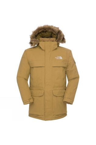 The North Face Mens McMurdo Parka Jacket British Khaki