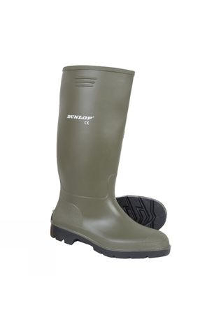 Dunlop Mens Budget Master Welly Green