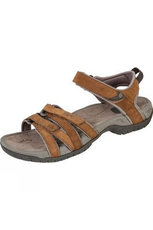 Teva Womens Tirra Leather Sandal Rust