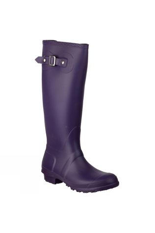 Cotswold Womens Sandringham Wellie Purple
