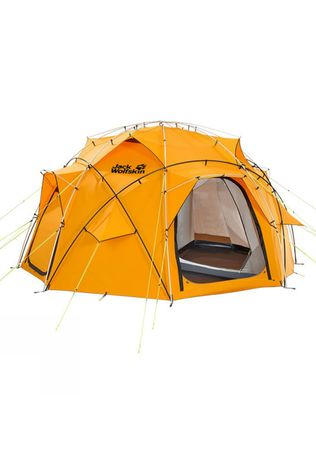 Jack Wolfskin Base Camp Dome Tent Burly Yellow
