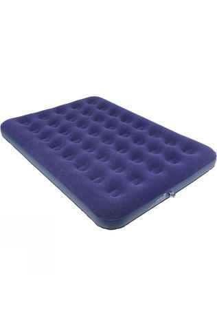 Blue Mountain Double Flock Airbed Blue