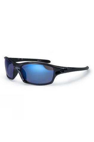 Bloc Daytona Sunglasses Shiny Black/Blue