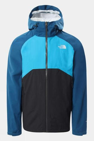 The North Face Mens Stratos Jacket Asphalt Grey/Moroccan Blue/Meridian Blue