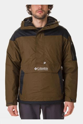 Columbia Mens Challenger Pullover Dark Olive