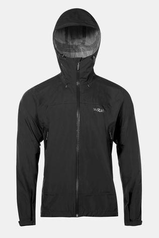 Rab Mens Downpour Plus Jacket Black
