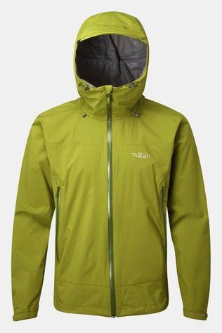 Rab Mens Downpour Plus Jacket Cactus