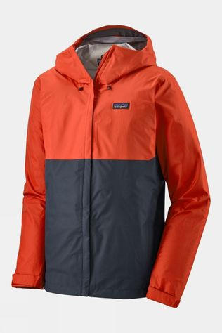Patagonia Mens Torrentshell 3L Jacket Hot Ember