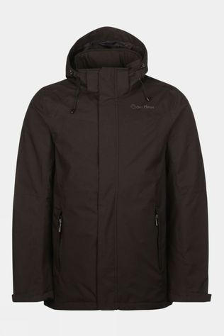Our Planet Mens Relief Insulated Jacket Black