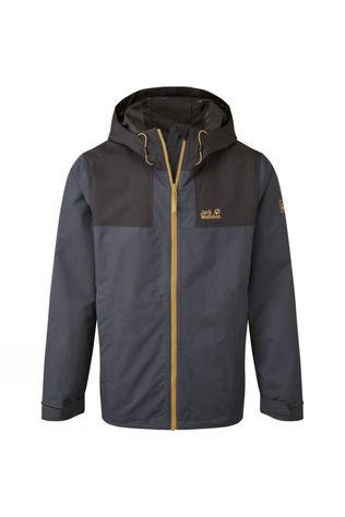Jack Wolfskin Mens Far Peak Jacket Ebony