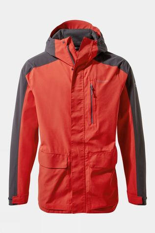 Craghoppers Lorton Jacket Pompeian Red / Black Pepper