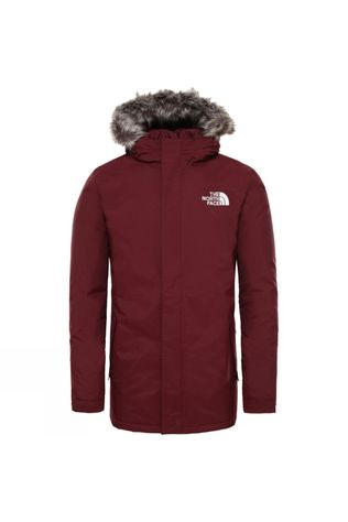 The North Face Mens Zaneck Jacket Deep Garnet Red