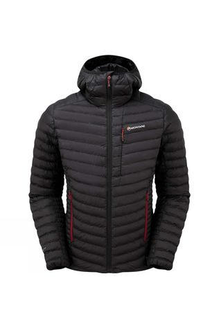 Montane Mens Icarus Jacket Black/Alpine Red