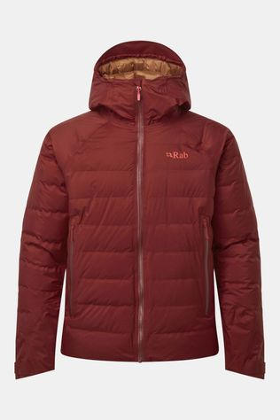 Rab Mens Valiance Jacket Oxblood Red