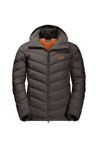 Jack Wolfskin Mens Fairmont Jacket Brownstone