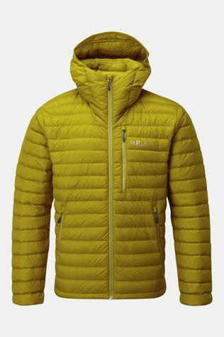 Rab Mens Microlight Alpine Jacket Dark Sulphur/Sulphur