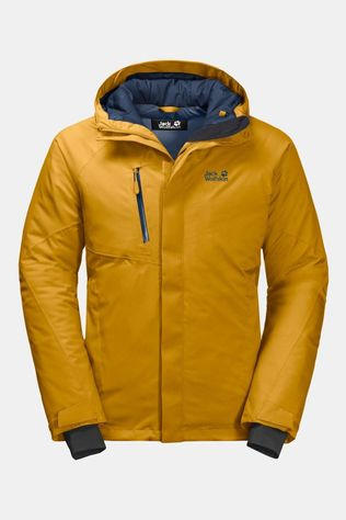 Jack Wolfskin Mens Troposphere Jacket Golden Yellow