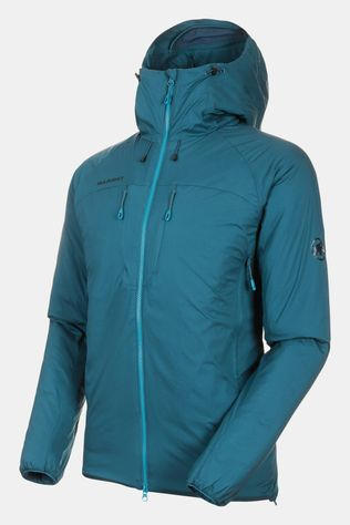 Mammut Rime Insulated Flex Hooded Jacket Wing Teal