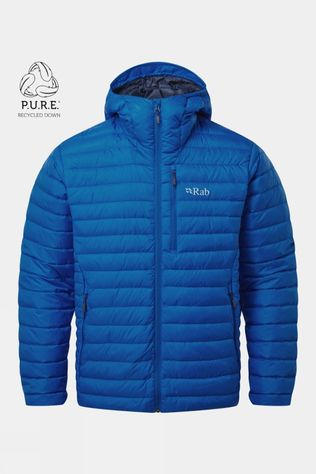 Rab Mens Microlight Alpine ECO Jacket Polar Blue