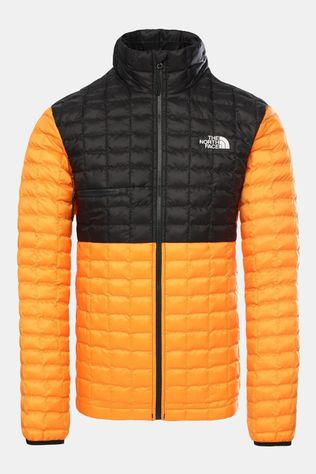 The North Face Men's Thermoball Eco Light Jacket Flame Orange-Tnf Black
