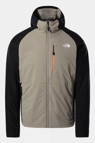 The North Face Mens Circadian Ventrix Hoodie Jacket Mineral Grey/TNF Black