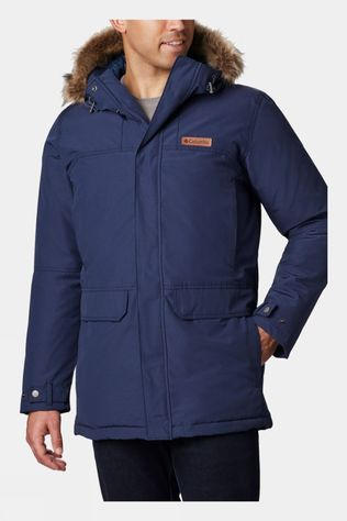 Columbia Mens Marquam Peak Parka Collegiate Navy