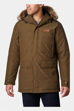Columbia Mens Marquam Peak Parka Olive Green